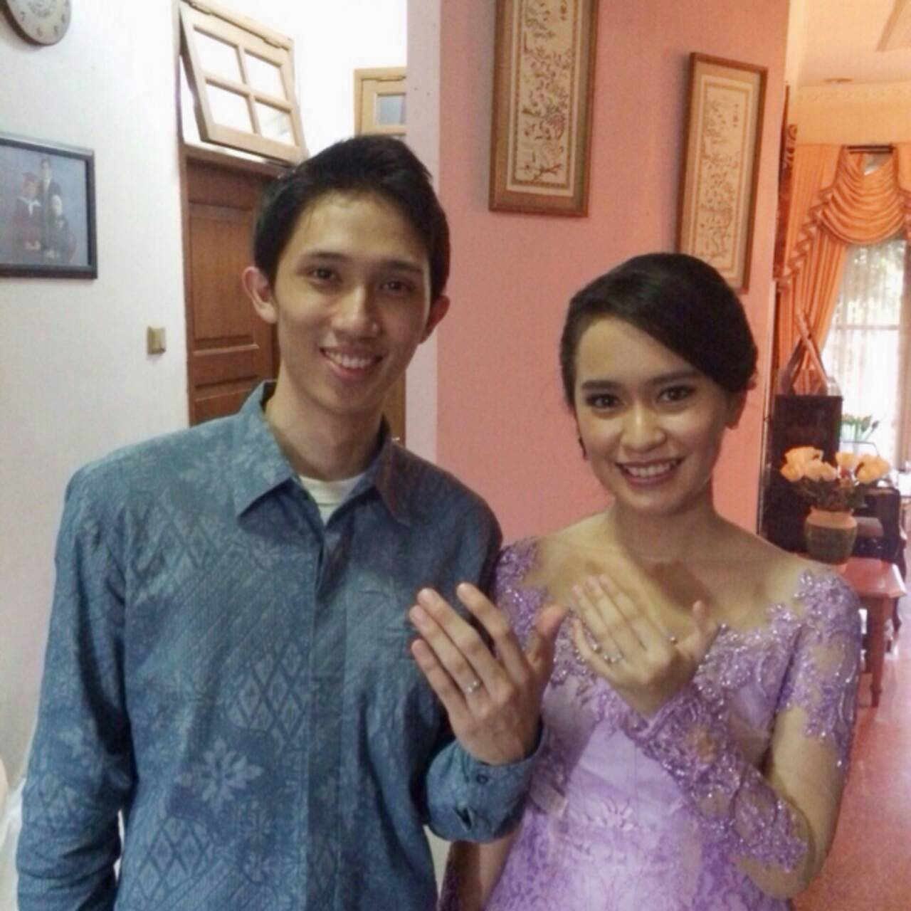 I received soo many compliments on the kebaya on my engagement day!