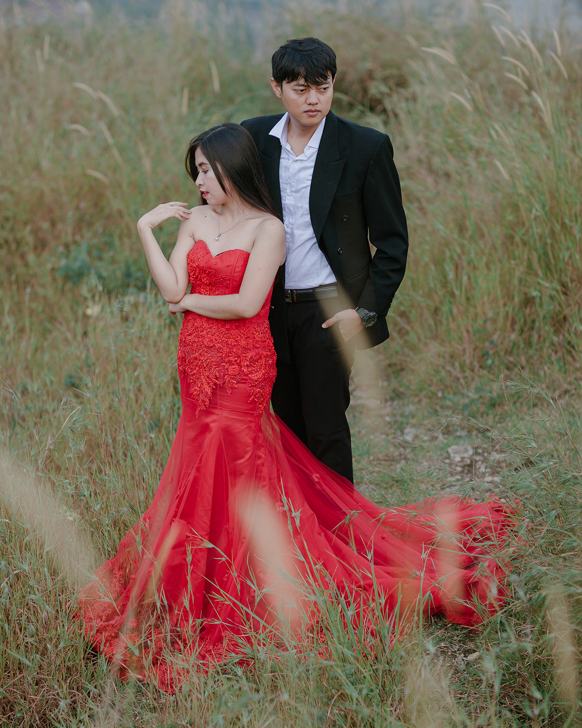Suka banget dress nya , fit on me. It is really really match the name of red darling dress